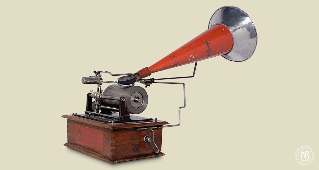 Phonographe coquet