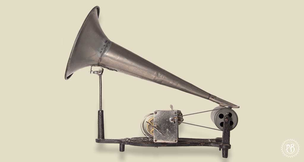 Phonographe de type lyre