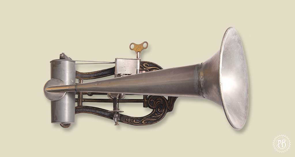 Phonographe type Lyre